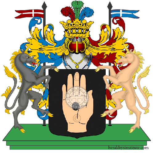 Coat of arms of family busetto