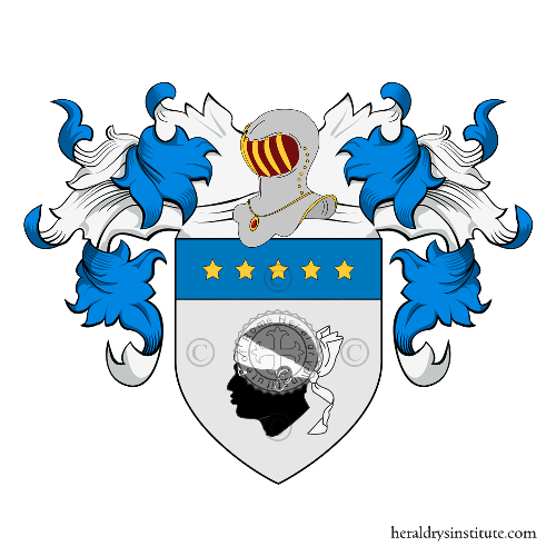 Coat of Arms of family Pioppo