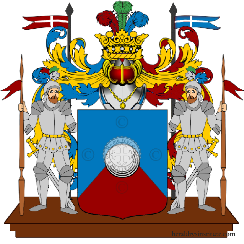 Coat of Arms of family Pruni