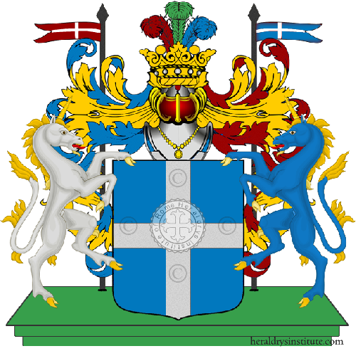 Coat of arms of family Perlingeiro