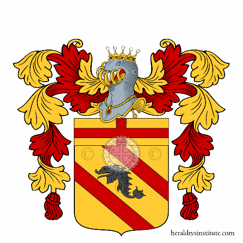Coat of Arms of family Delfino