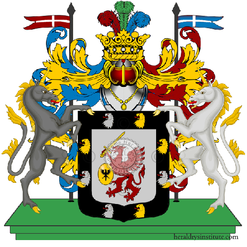 Coat of arms of family Romanow
