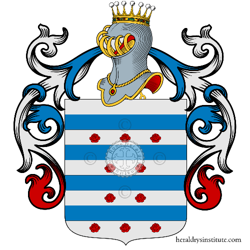 Coat of Arms of family Baldes