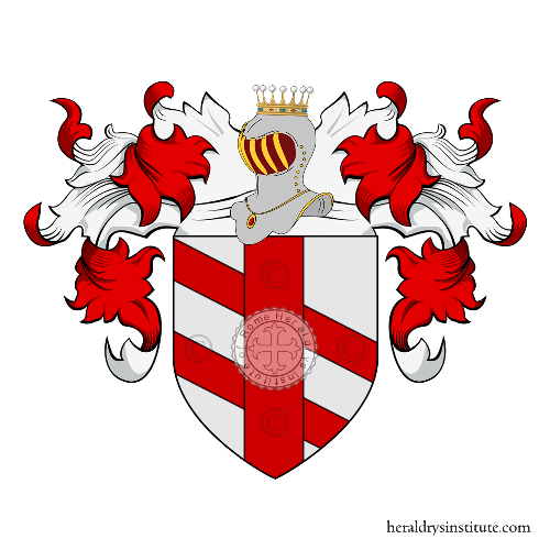 Coat of arms of family Cassaro