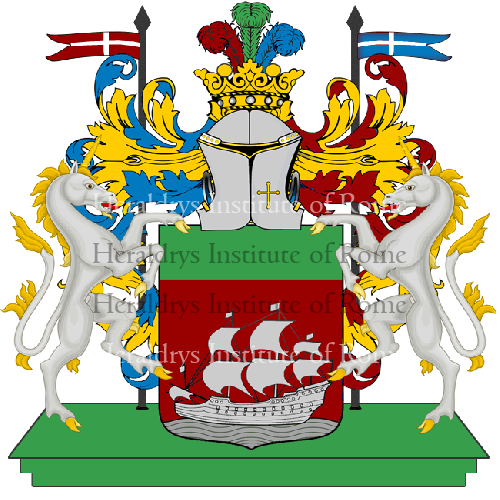 Coat of arms of family paria - ref:14183