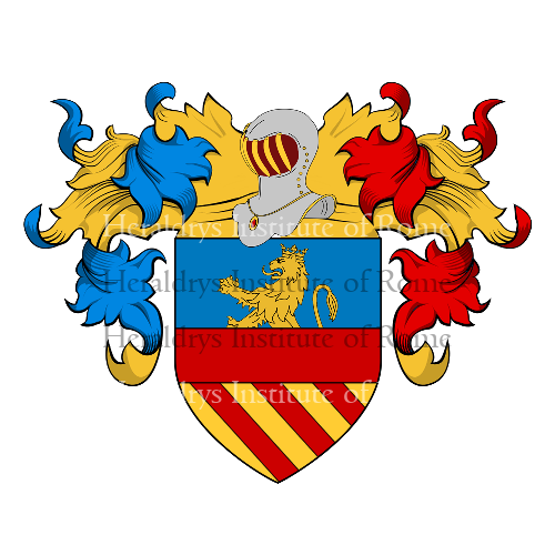 Coat of Arms of family Liotta (la), Liotti