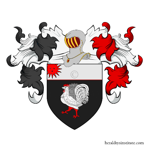 Coat of Arms of family Gal