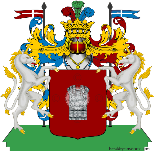 Coat of Arms of family Zaccheo