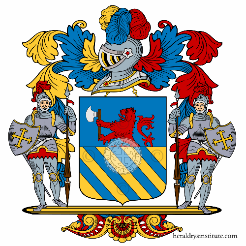 Coat of arms of family Mazzo