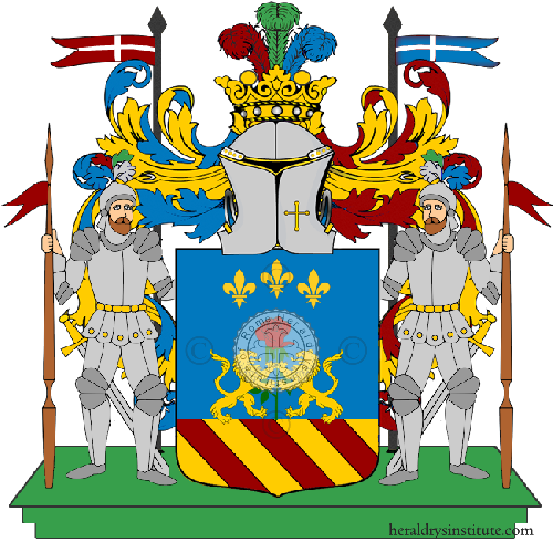 Coat of Arms of family Abbruzzese