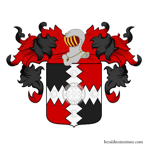 Coat of Arms of family Iodice o Jodice