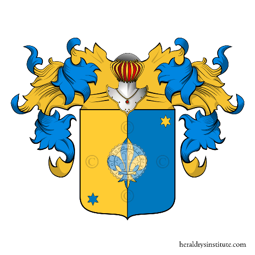 Coat of arms of family Zavagli