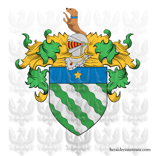 Coat of Arms of family Rivotti, Rivetti o Pivetti