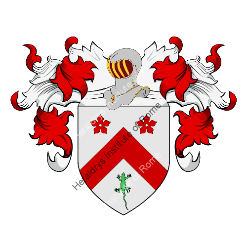 Coat of Arms of family Cornetti