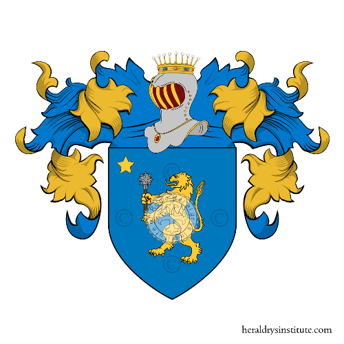 Coat of Arms of family Mazzotti Biancinelli