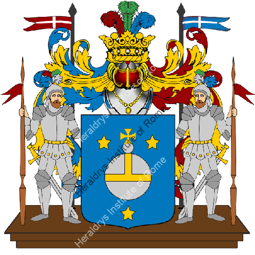 Coat of Arms of family Tironi o Teroni