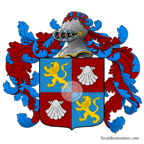Coat of Arms of family Malcarne