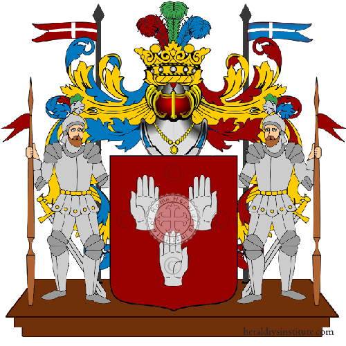Coat of Arms of family Mainardi (Ferrara)
