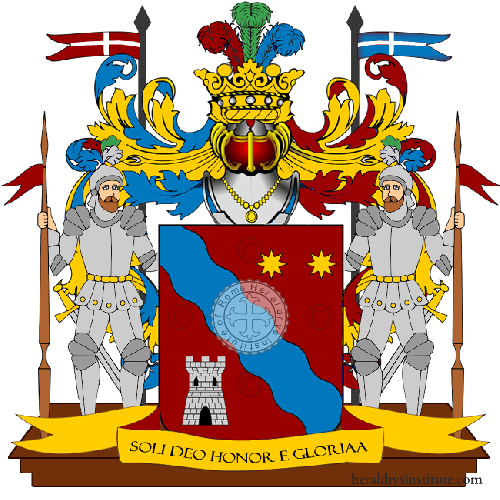 Coat of Arms of family Calistri