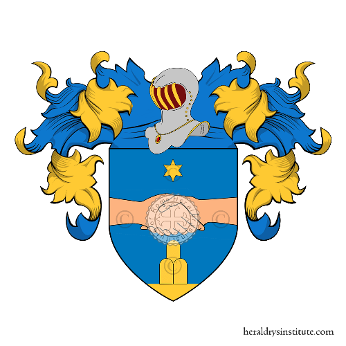 Coat of Arms of family Salanti