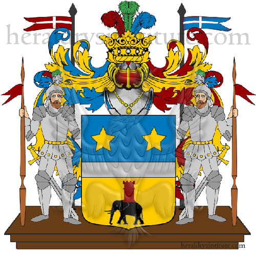 Coat of Arms of family Ruzzoni