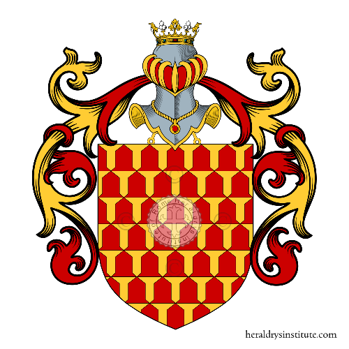 Coat of Arms of family Lombardo, Lombardi (Napoli, Palermo)