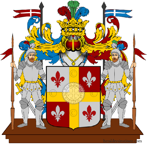 Coat of arms of family Paladino