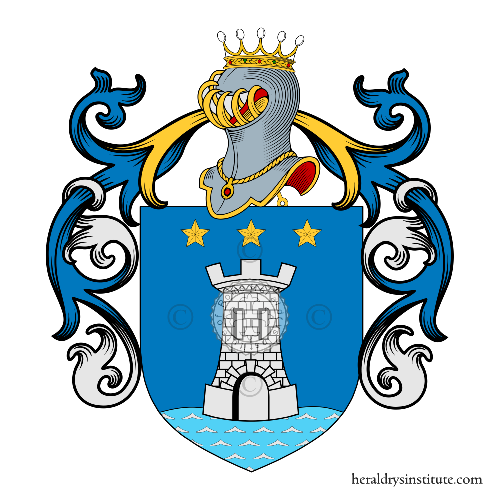 Coat of Arms of family Marziale