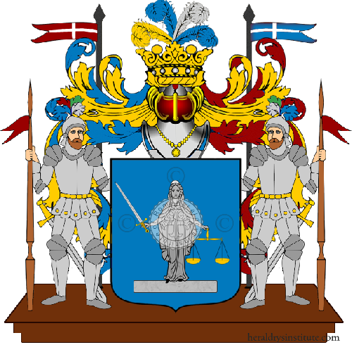 Coat of Arms of family Bersa
