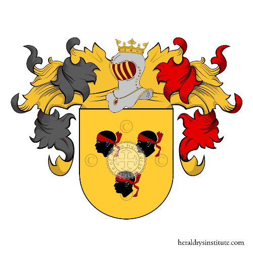 Coat of Arms of family Gassarino