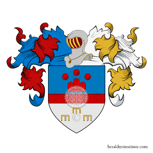 Coat of Arms of family Menchi o Menci