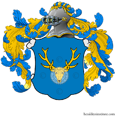 Coat of Arms of family Ghini