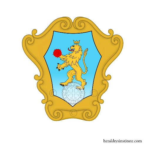 Coat of Arms of family Spampanato