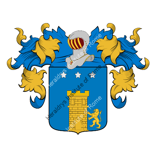 Coat of Arms of family Trano