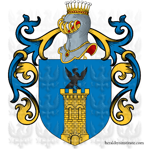 Coat of Arms of family Romani
