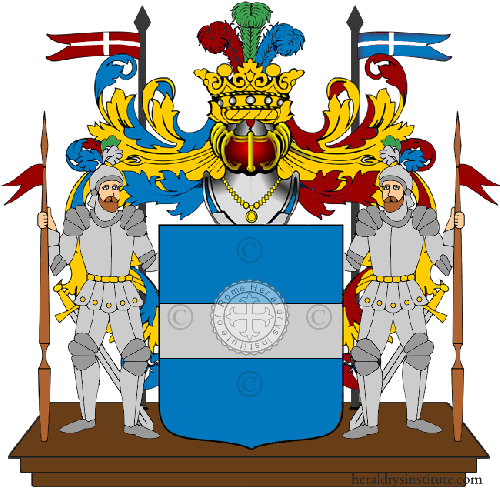 Coat of Arms of family Sanfioresi