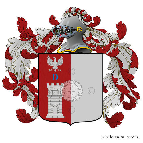 Coat of Arms of family Deo o Lideo