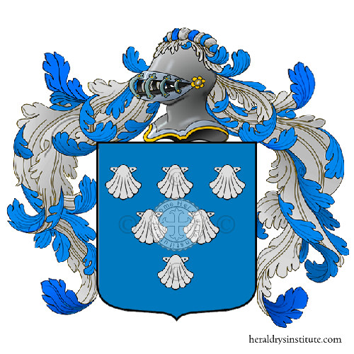 Coat of Arms of family Gualberti Zetti