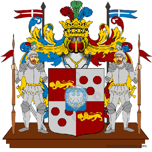 Coat of Arms of family Parsio
