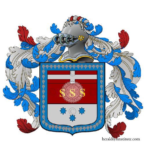 Coat of arms of family Elli