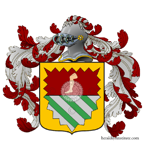 Coat of Arms of family Coscia
