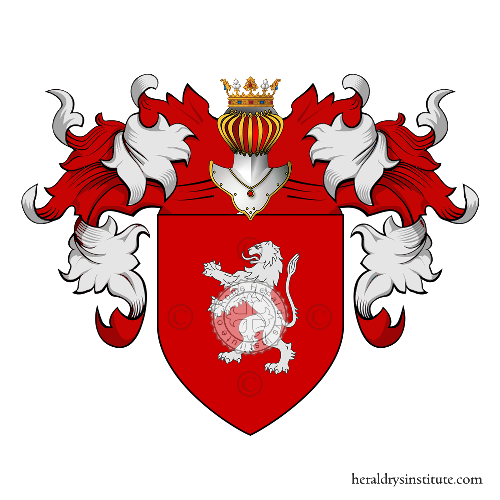 Coat of Arms of family Lombardi - roma