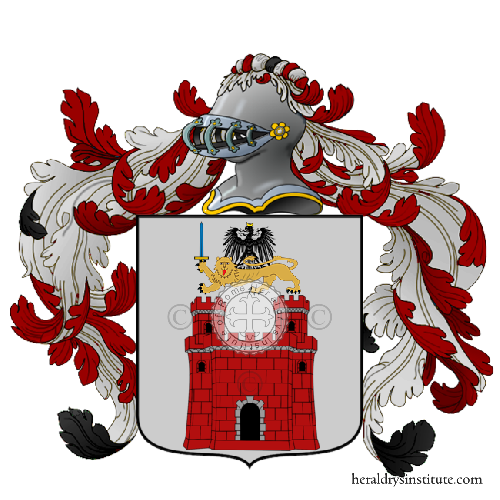 Coat of Arms of family Contin o Contino