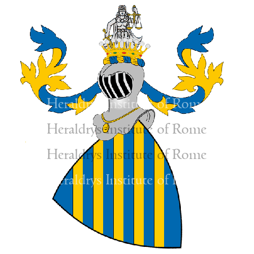Coat of Arms of family Capitanei