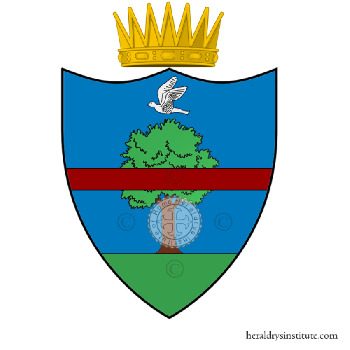 Coat of Arms of family Travaglini