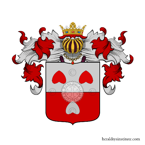 Coat of arms of family Colleoni