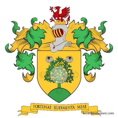 Coat of Arms of family Marrone