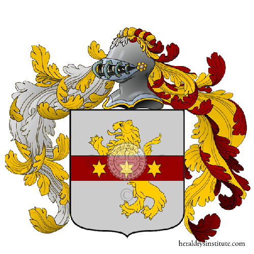 Coat of Arms of family leoni