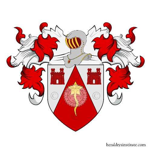 Coat of Arms of family Pagnono