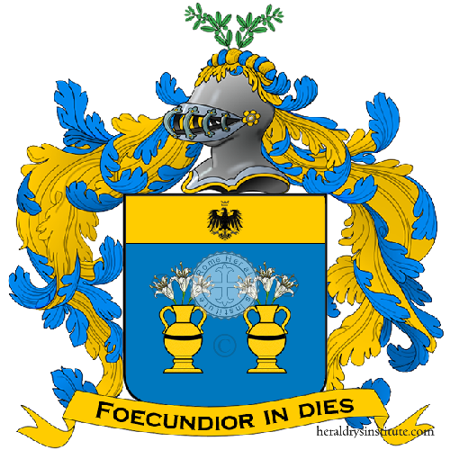 Coat of arms of family Buglione